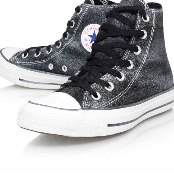 dfa1484168e4 Converse Other - Chuck Taylor All Star Sparkle Wash High Top Shoe